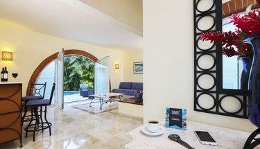 Sala de estar Hotel Krystal Puerto Vallarta Puerto Vallarta
